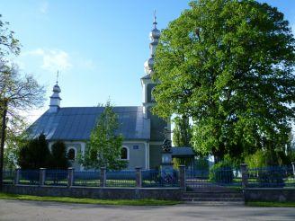 Церква Св. Миколая, Чинадійово