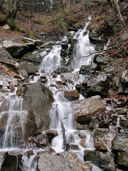 Водопад Труфанец, Ясиня — фото, описание, карта