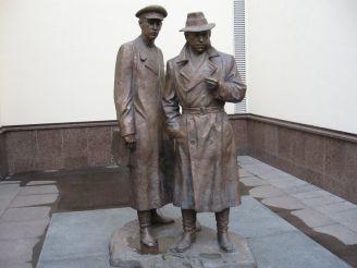 Пам'ятник Жеглову та Шарапову