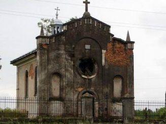 Католический костел, Колындяны