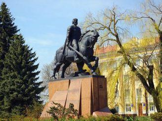Monument Daniel Galician, Ternopil