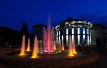 Світломузичний фонтан у Черкасах