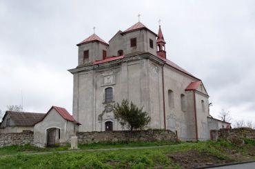 Костел Девы Марии, Жванец