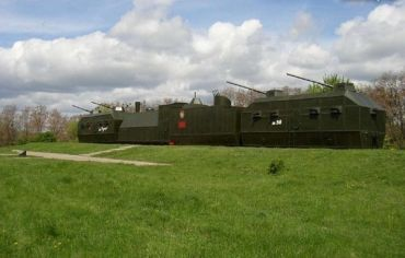 Памятник героям бронепоезда