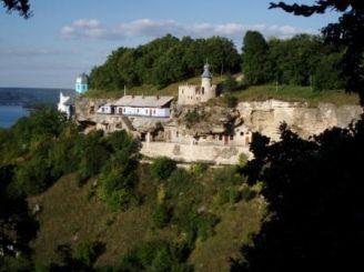 Rock Galician monastery