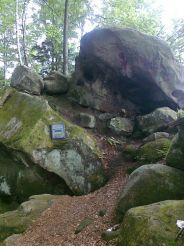 Пещера Довбуша, Подзахарычи