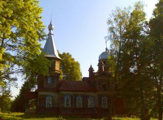 Покровська церква, Ларинівка