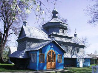 Успенська церква, Дубівці