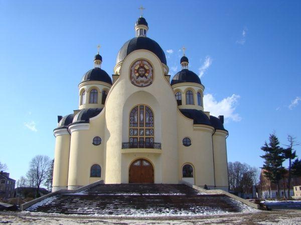 Преображенский кафедральный собор, Коломыя — фото, описание, карта
