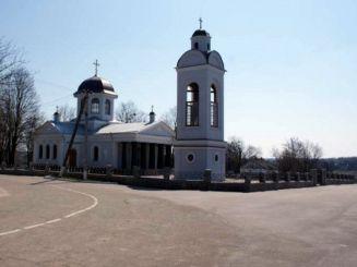 Крестовоздвиженская церковь, Разумовка