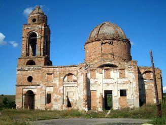 Преображенская церковь, Талова Балка