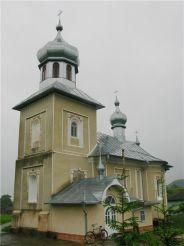 Успенська церква, Глиниця