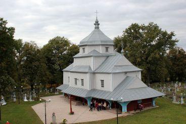 Миколаївська церква, Вікторів