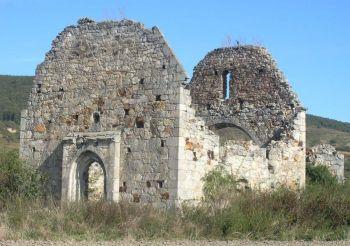 Руїни костелу Святого Іоанна Хрестителя, Мужієво