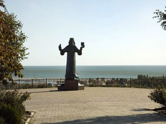 The observation deck, Mariupol