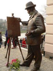 Памятник Рошковичу, Ужгород