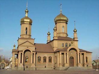 Собор Покрови Пресвятої Богородиці міста Єнакієве