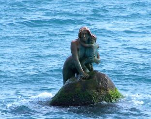Mermaid sculpture, Mishor