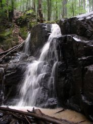 Drahobrat Waterfall