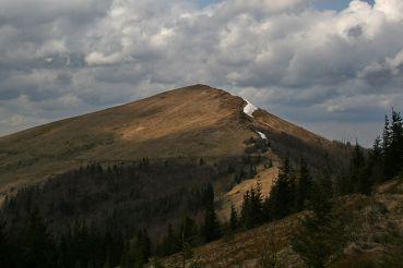Вид на гору Парашка