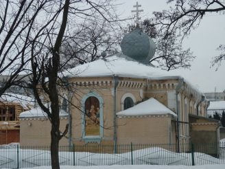 Church of the Nativity of the Blessed Virgin in Cherkassy