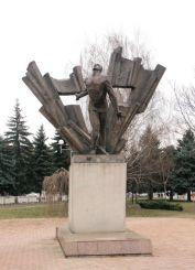 Памятник расстреляным антифашистам
