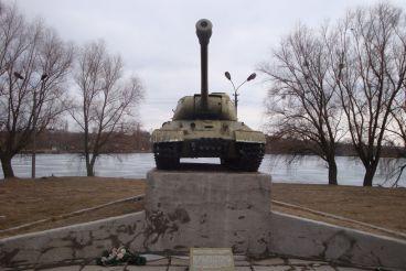 Танк ИС-2, Ставище
