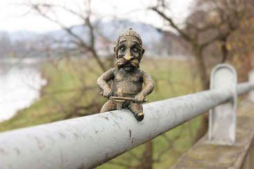 Міні-скульптура Кельта, Мукачеве