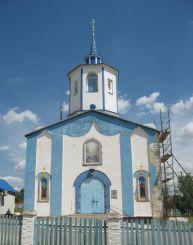 Свято-Преображенский храм в селе Коньково