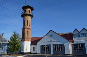Пожарная каланча, Тараща