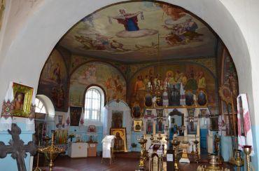 Воскресенская церковь, Зазимье