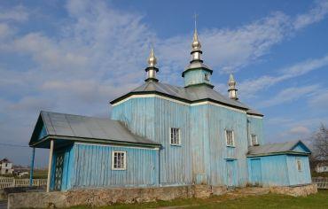 Воскресенська церква, Бородані