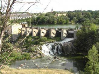 Плотины Стеблевской ГЭС