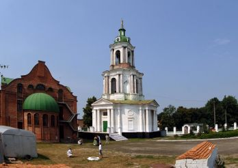 Введенская церковь-колокольня, Ахтырка