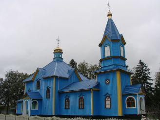 Покровська церква, Мотовилівка