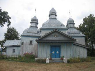 Покровська церква, Кожанка