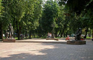 Центральный парк, Глухов