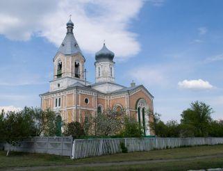 Церковь Успения Пресвятой Богородицы в Медведевке