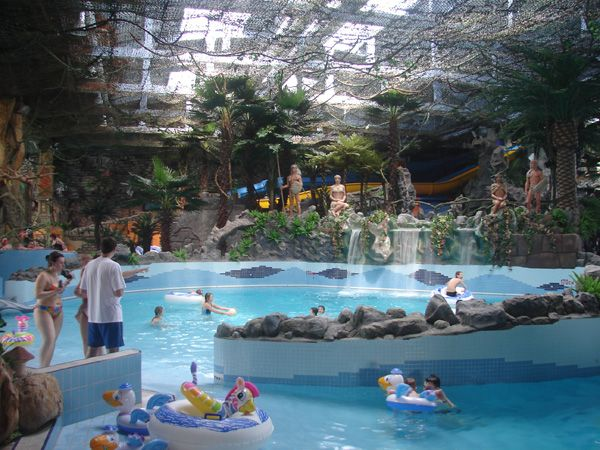 water park description Disney's blizzard beach water park features waterslides, raft rides, a one-acre wave pool and a flurry of fun at walt disney world resort.