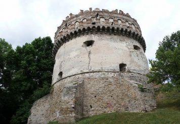 Круглая (Новая) башня, Острог