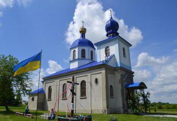 Свято-Покровская церковь (костел святого Вацлава), Грушвица Первая