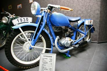 """Museum Club """"wheel and the motor"""" (motorcycle museum)"""