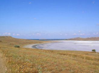Солоне озеро Чокрак