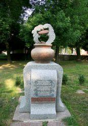 Пам'ятник деруну у Коростені