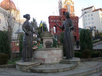Скульптура «Ісус Христос і самаритянка»