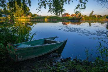 Домик рыбака на Острове любви, Старый Солотвин