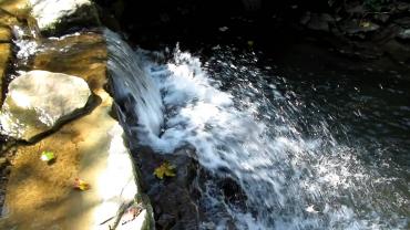 Багровецкий водопад