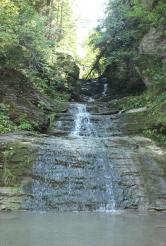 Водоспад Середній Гук  (Буковинські водоспади)