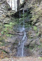 Водопад Шепотско-Брустурский Гук