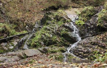 Водоспад Яворівський Гук